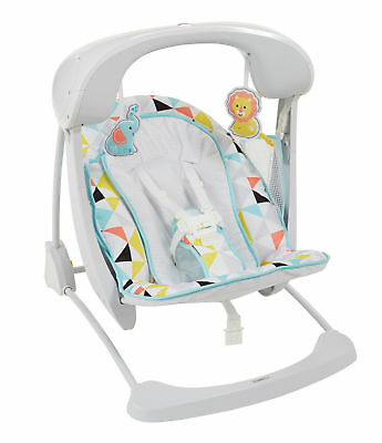 Fisher-Price Deluxe Take-Along Swing & Seat - Windmill