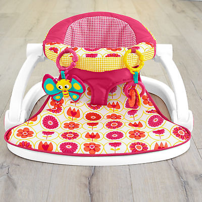 Fisher-Price Sit-Me-Up Baby Floor Seat Happy Daisy
