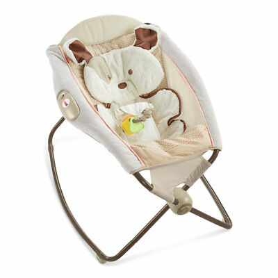 Fisher-Price My Little Snugapuppy Deluxe Newborn Rock N Play Sleeper