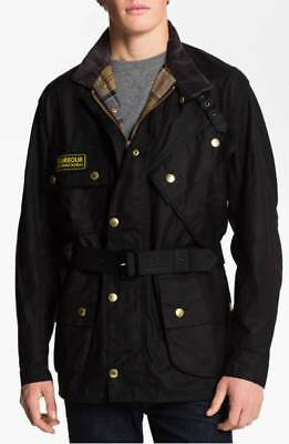 New Barbour International Original Relaxed Fit Sylkoil Waxed Jacket A7
