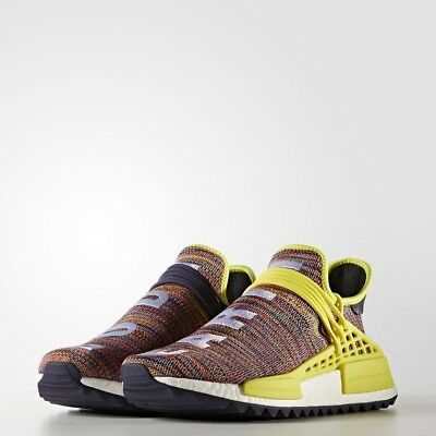 PHARRELL WILLIAMS HUMAN RACE X ADIDAS Originals NMD TRAIL Multi colour UK8.5