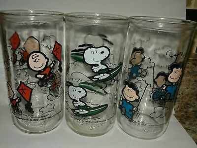 RARE 1950's Peanuts Characters Charlie Brown United Features Syndicate Glasses