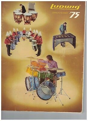 The Ludwig Drum Catalog 1975 W/ Price List