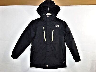 The North Face Boys Insulated HyVent Hooded Ski-Winter Jacket Size Large