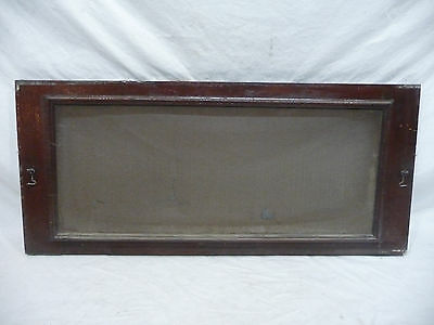 Antique Victorian Style Window Screen - Circa 1910 Fir Architectural Salvage