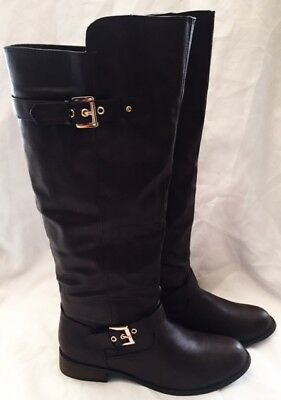Riding Boots Shoes Women Size 10 Bucco Capensis Riding Boots Leather Buckle Boot