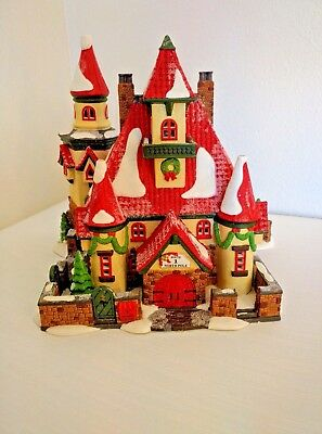 Department 56 North Pole Series, Route 1 North Pole, Home of Mr. and Mrs. Claus