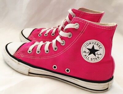 Converse All Star Hi Shoes Girls Size 3 Converse Shoes Chuck Taylors Canvas Pink