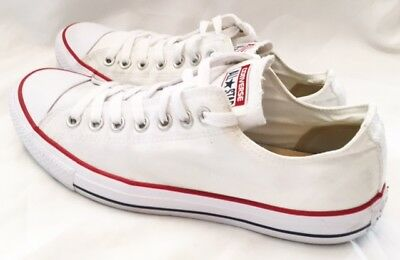 Converse All Star Shoes Womens Size 11 Converse All Star Lo Shoes Canvas White