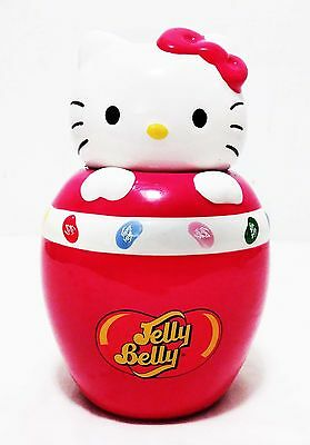 Candy Jar Hello Kitty Jelly Belly Ceramic - Made by Sanrio 2010 - SIL #34202
