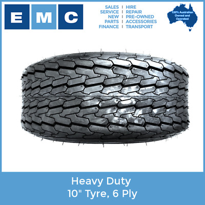 "10"" Tyre, Heavy Duty 6 Ply (250/80/10) for low speed vehicles"