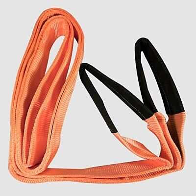 IIT 74790 Heavy Duty Lifting Sling - 3 Inch x 13 Feet basket hitches 5280Lbs NEW