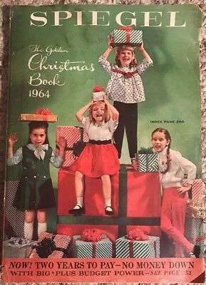 Spiegel The Golden Christmas Book Catalogue Catalog Vintage 1964 Gift Guide Toys
