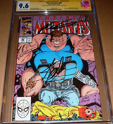 New Mutants #88 CGC SS SIGNED Stan Lee Rob Liefeld Marvel 2nd appearance Cable