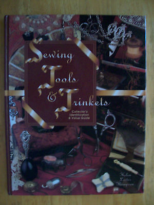 VINTAGE SEWING TOOLS PRICE GUIDE COLLECTOR'S BOOK Thimbles Scissors Tapes Pins