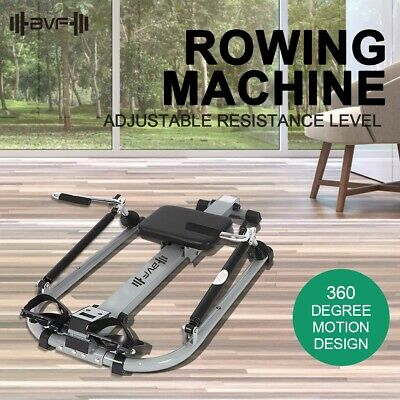 Rowing Machine Abdominal Exercise Resistance Fitness GYM Indoor Hydraulic Rower