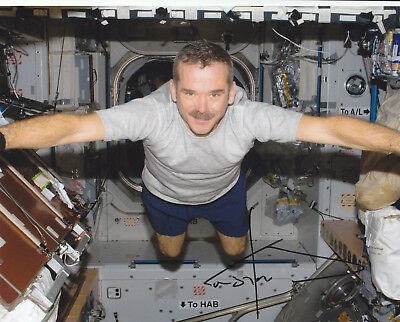 Commander Chris Hadfield Signed Autograph Astronaut Nasa Iss 8X10 Photo Proof #5