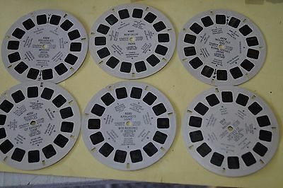 Viewmaster reels.  6 of Asia, Australia
