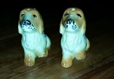 Darbyshire cockerspaniels salt and pepper Shakers