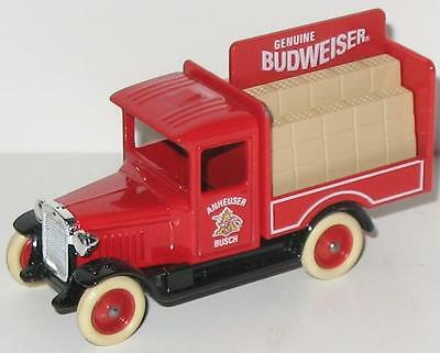 Vintage New Old Stock Budweiser Die-Cast Metal Delivery Truck, England in Box