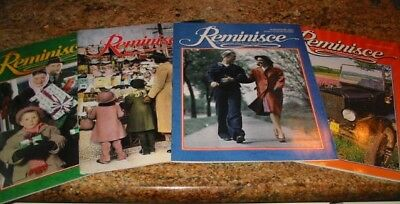Lot of 4 Reminisce Magazines (1996/2005 (2)/2008- Two Dec Issues See All Photos