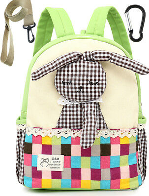 Kids Toddler Backpack Rabbit with Leash Anti Lost for Child Girls Boy  Mini Bag