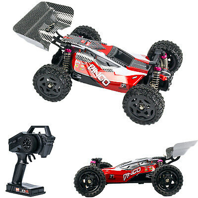 REMO 4WD RC Car 2.4G 40km/h Waterproof Brushed  Racing Buggy High-Speed Red 1651