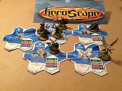 Viking 5 Cards 7 Figures Heroscape Rise of the Valkyrie Set Replacement Parts