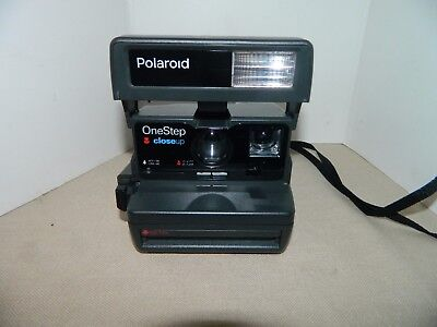 Polaroid One Step Close-up Style 600 Instant Film Camera Not Tested