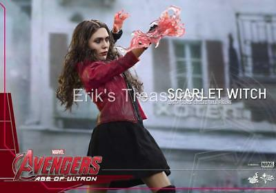 Hot Toys Avengers 2 Age Of Ultron Scarlet Witch 1/6 Scale Figure MMS 301 NEW!!