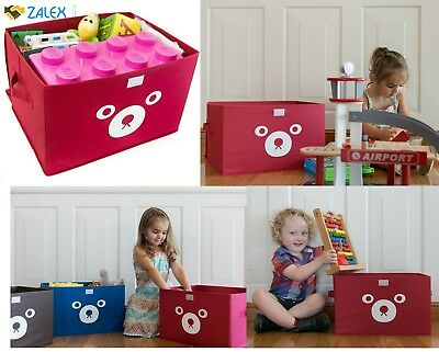 Storage Bin For Toy Storage Collapsible Chest Box Toys Organizer Lid For  Kids