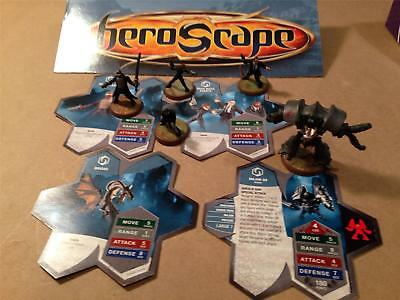 VYDAR 4 Cards 5 Figures Heroscape Rise of the Valkyrie Set Replacement Parts