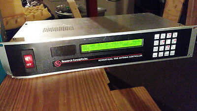 Research Concepts Inc. RC2000 Dual Axis Antenna Controller RC2KA