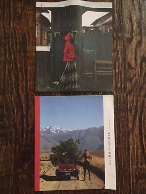 Anthropologie Catalog Lot Issue 9 & 11 2011 Holiday Fashion