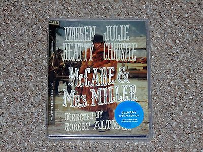 McCabe & Mrs. Miller Criterion Collection Blu-ray 2016 Brand New Robert Altman