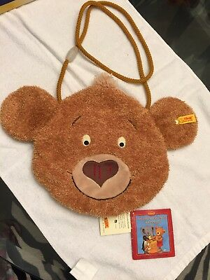 Steiff Bear Face Bag Germany