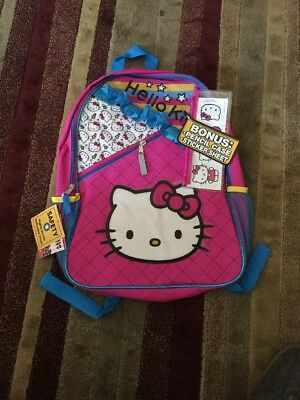 HELLO KITTY Backpack And Pencil Case Set NWT