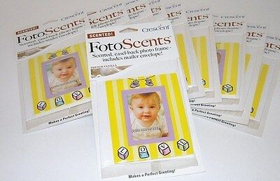 New (Lot of 10) Newborn Photo BIRTH ANNOUNCEMENTS BABY Picture Frame + Envelope