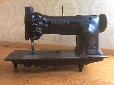 Singer Industrial 112wsv110 double needle with needle feed