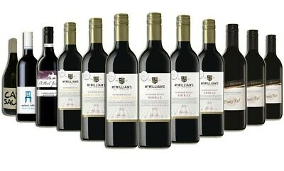 Christmas Red Wine Mixed - 12 Pack Free Shipping 5-Star Winery