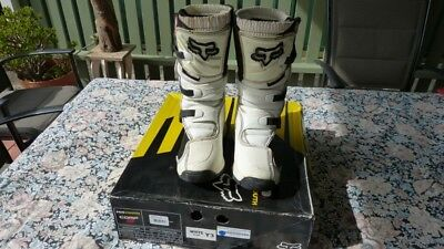 Motorbike Boots Fox Comp5 - Youth Size 3