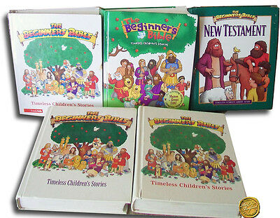 The Beginners Bible Lot of 5 Hardback Childrens Illustrated