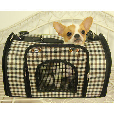 New Portable Soft Dog Cat Tote Carrier House Kennel Pet Travel Bag Cage Folding