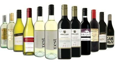 Christmas Red Wine & White Mixed - 12 Pack Free Shipping 5-Star Wines