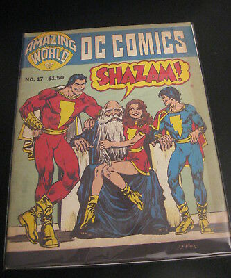 Amazing World Of DC Comics #17 Shazam/Captain Marvel/GA/Fawcett Issue! +TV (VF)