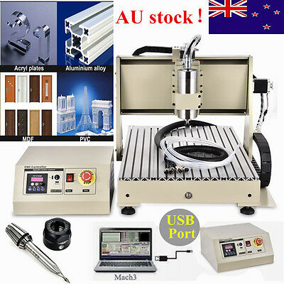 6040T 3 Axis Usb Cnc Router Engraver Engraving Cutter Machine Milling Usb Port