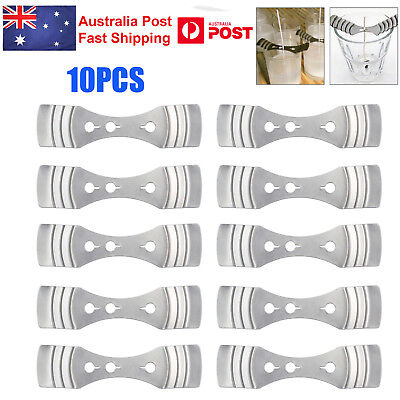 10pcs DIY Light Metal Candle Wick Holder Centering Device Candle Making Supplies