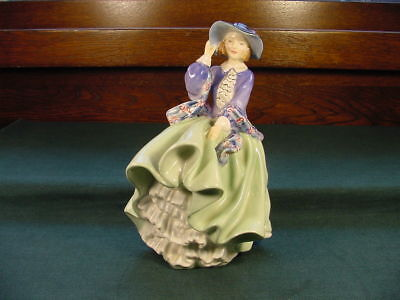 1950's HN 1833 Q M Royal Doulton Top of the Hill Bone China Figurine No Reserve