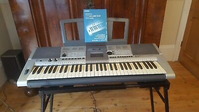 yamaha psr 740 portatone keyboard with foot pedal mains. Black Bedroom Furniture Sets. Home Design Ideas