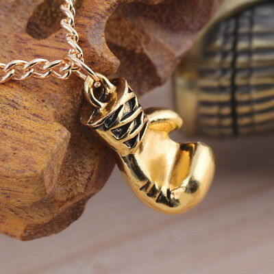 Men's Women's Stainless Steel Boxing Glove Pendant Necklace ChaSQ